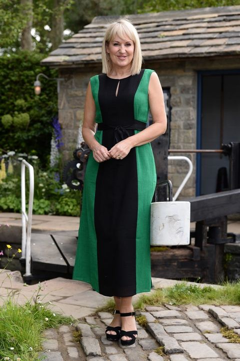 Nicki Chapman visits Chelsea Flower Show days after brain operation