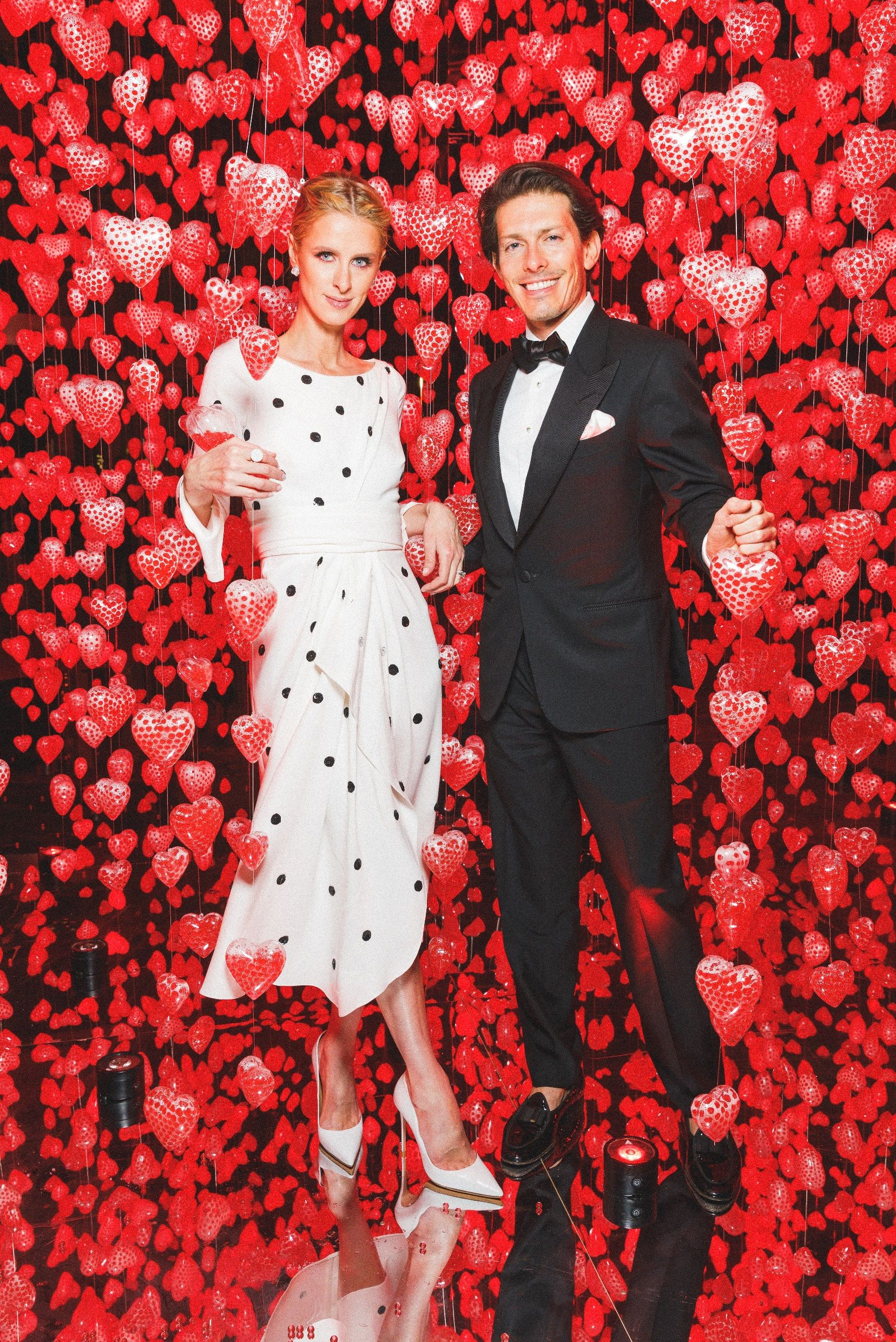 Nicky Hilton Rothschild and Edgardo Osorio Nicky Hilton Rothschild and Edgardo Osorio attend Love Ball Arabia, hosted by the Museum of Islamic Art, in Doha, Qatar on March 29.