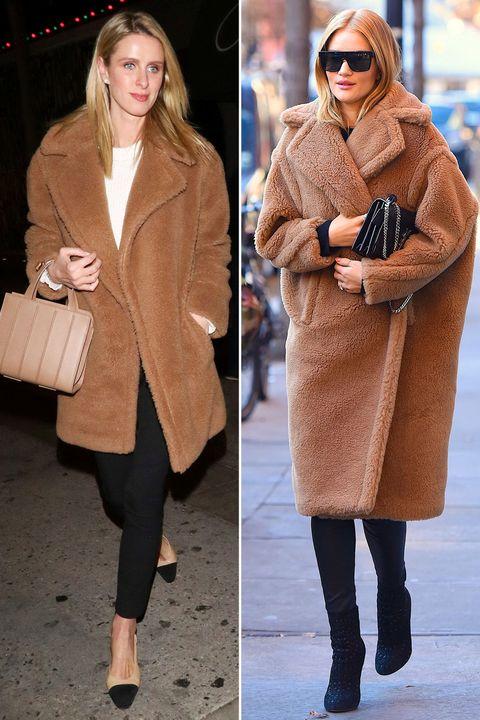 El mismo abrigo, pero no el mismo estilo,¿a quién le sienta mejor?