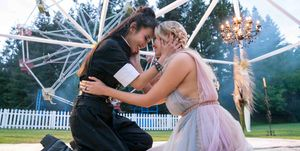 Nico and Karolina wedding, Marvel's Runaways season 3, episode 1