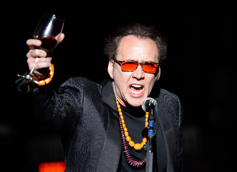 Nicolas Cage y su adicción a la bebida