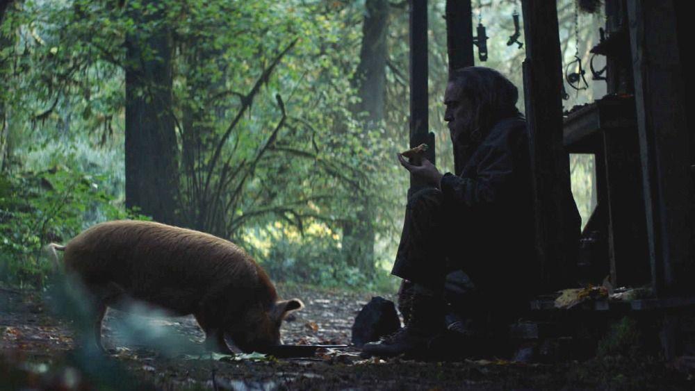 Nicolas Cage se deja ver en la primera imagen de 'Pig'