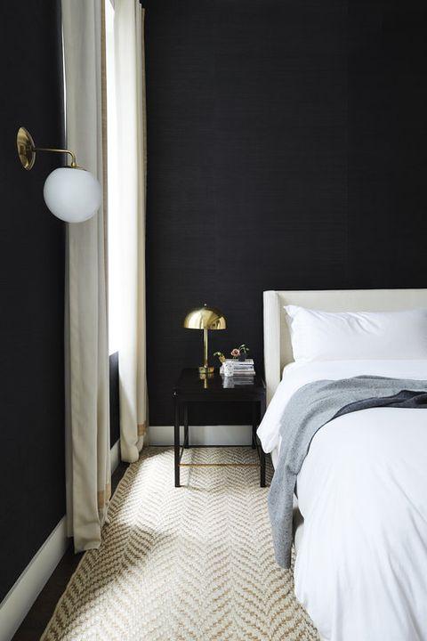 Black interiors
