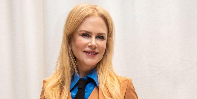 Nicole Kidman wears nostalgic movie t-shirt in honour of Australian medalist