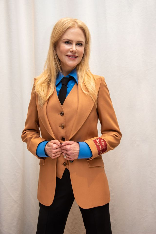 beverly hills, california   march 09 nicole kidman at the undoing press conference at the four seasons hotel on march 09, 2020 in  beverly hills, california photo by vera andersonwireimage