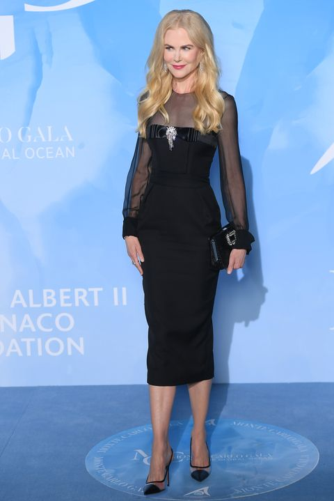 Nicole Kidman en Monte-Carlo Gala