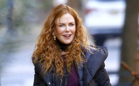 Nicole Kidman con pelo pelirrojo y rizos - Nicole Kidman con el peinado de la primavera