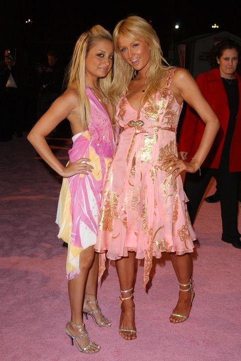 reality stars red carpet paris hilton and nicole richie
