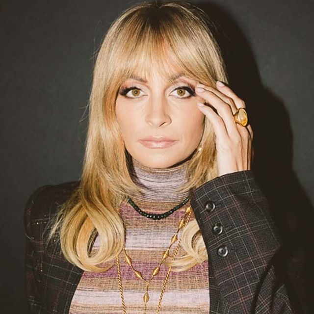 nicole richie surrounded by her favorite products