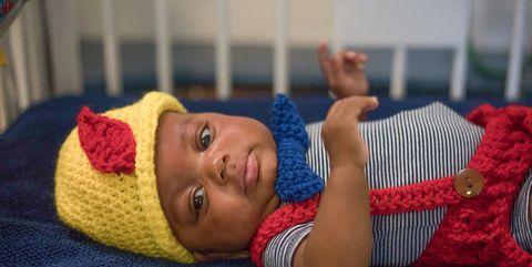 Child, Baby, Crochet, Toddler, Knitting, Headgear, Textile, Bedtime, Wool, Sleep,
