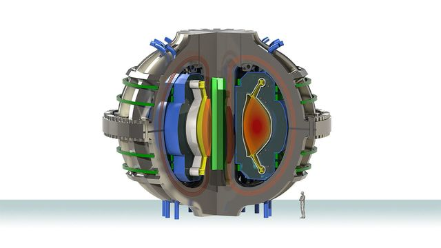 compact fusion power plant concept