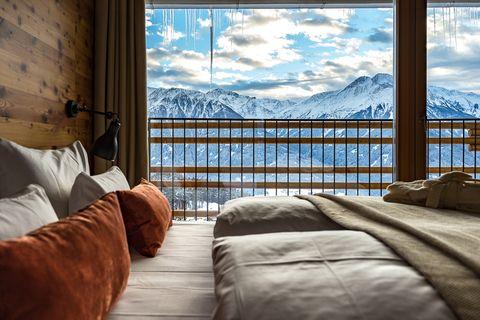 Bedroom, Room, Property, Sky, Furniture, Suite, Bed, Interior design, House, Real estate,