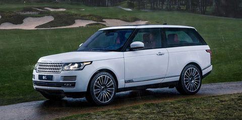 """Niels van Roij Design """"Adventum Coupe"""" Range Rover SV Coupé"""