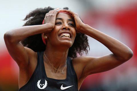 Nieuw Europoees record op de 3000 meter Siffan Hassan