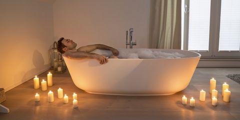 1 uur in bad staat gelijk aan 30 minuten sporten