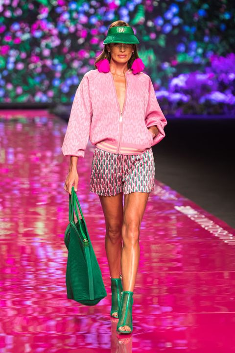 lola casademunt by maite catwalk  mercedes benz fashion week madrid  september 2021