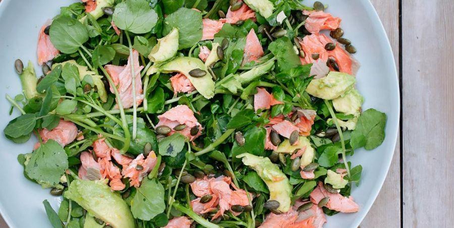 Zalmsalade-wat-te-eten
