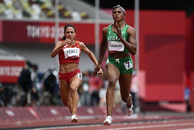 blessing okagbare, atletismo