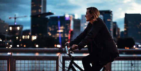 Night Bike Ride in Portland Oregon