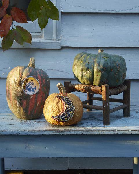 night sky pumpkins pumpkin decorating ideas