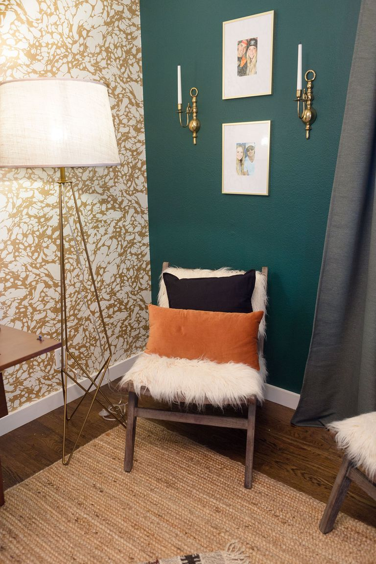 Hgtv 39 s jasmine roth shares night watch paint tips - Night watch paint color ...
