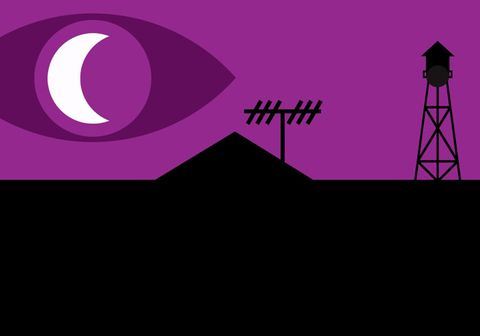 Purple, Violet, Magenta, Crescent, Graphics, Graphic design, Symbol, Silhouette,