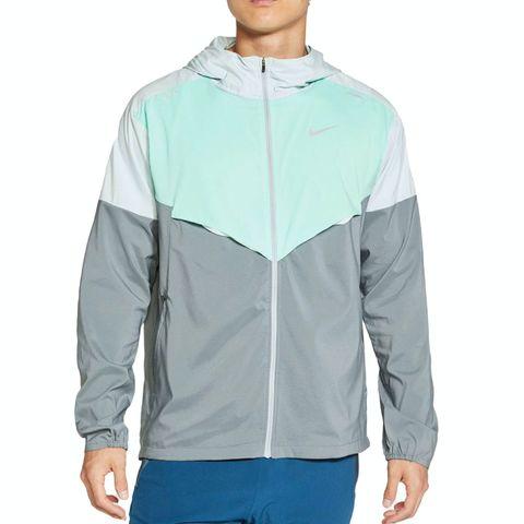 nike windrunner jacket hardloopjack jack hardloopjas groen grijs