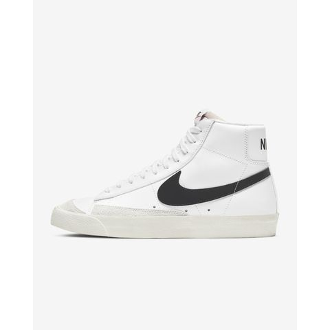 nike blazer mid 77 vintage sneakers heren mannen schoenen klassiek zwart wit