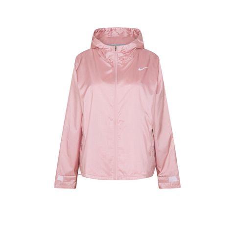 nike essential hardloopjack pink glaze roze hardlopen jack jacket hardloopkleding