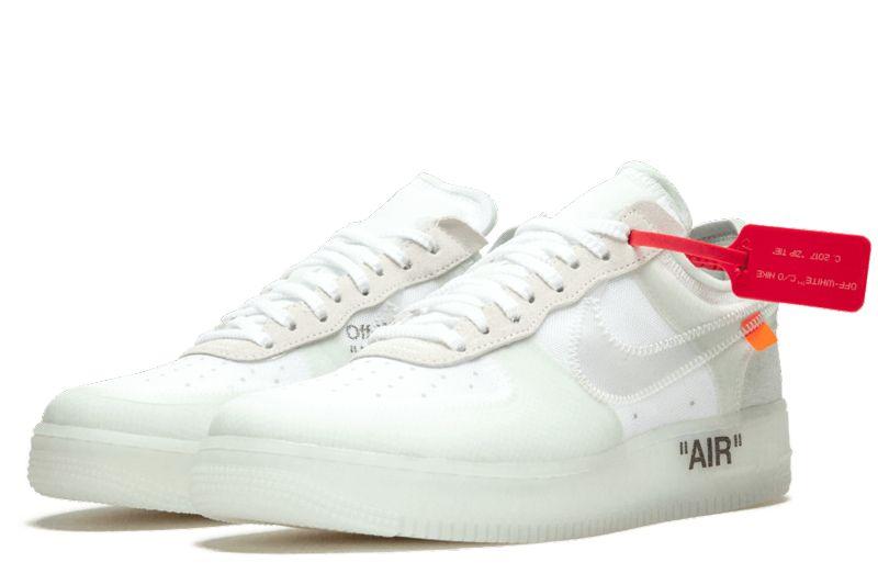 OFF WHITE X NikeAir Force 1 Low OW Turnschuhe Herrenschuhe