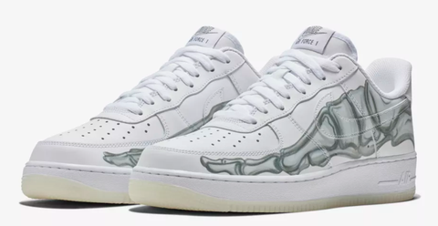 quality design 3a89e 25956 Nike and Puma Halloween Sneakers | Air Force 1 Skeleton Release
