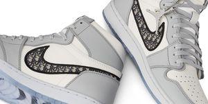 Nike Air Jordan 1 vistas por Dior