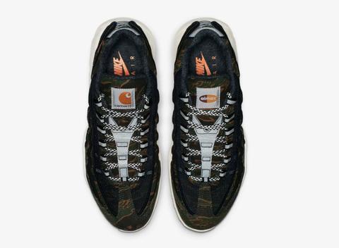 Golpeteo Sin cabeza radiador  Nike Air Max 95 X Carhartt WIP   Shoe Releases