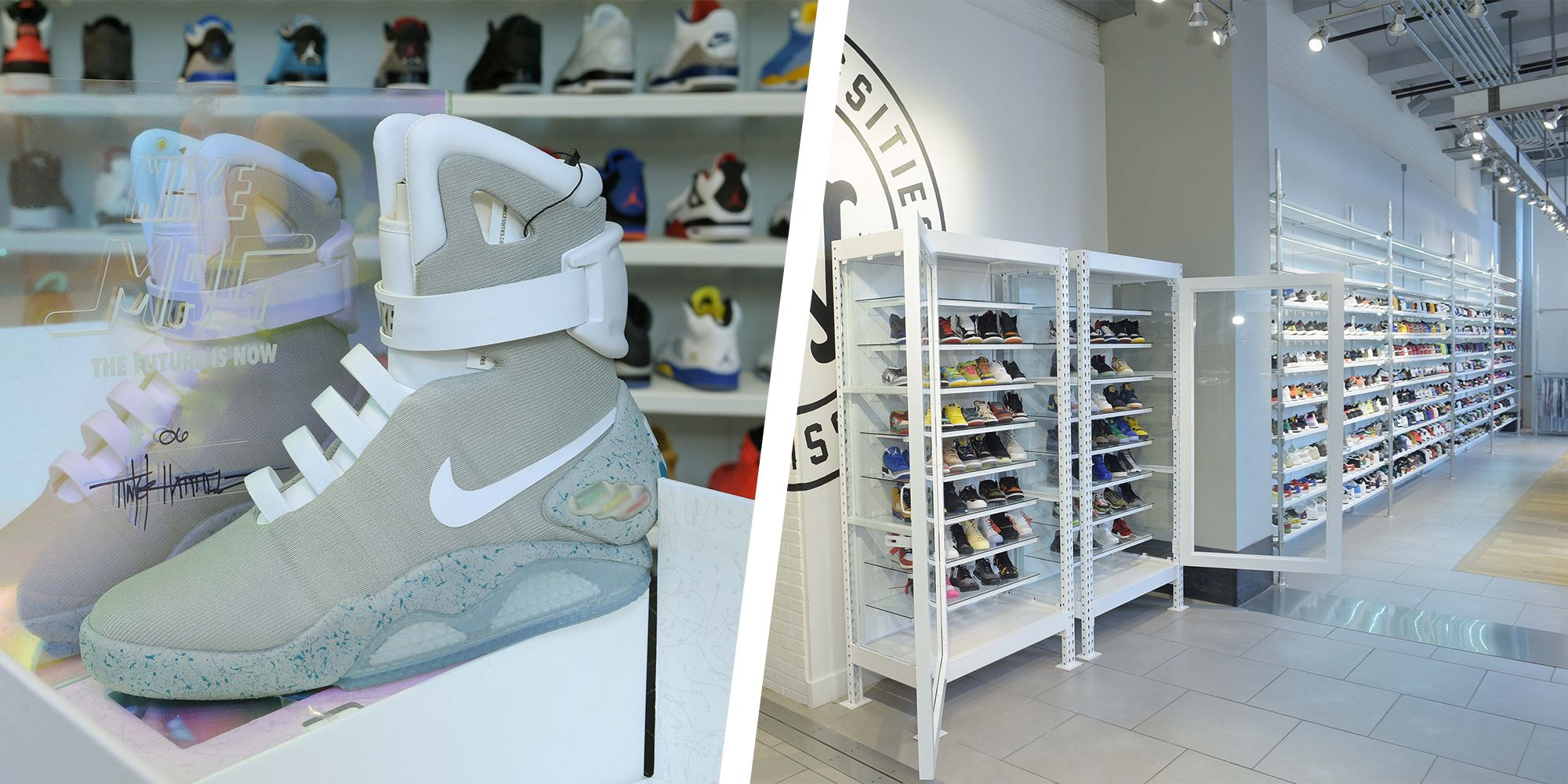 san francisco b1c32 2c7d4 American Eagle is Selling Back to the Future Nike Mag Sneakers for 50,000