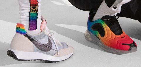 Lirio para donar bolita  Las zapatillas de running que homenajean al Orgullo Gay