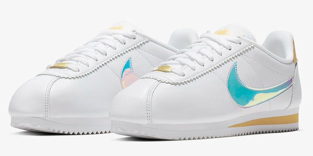 premium selection ed528 d0dec Nike's Iridescent Sneakers Will Have You Shining With Every Single Step