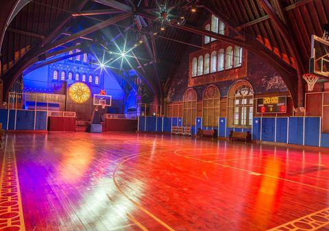 Light, Lighting, Architecture, Building, Night, Stage, Ballroom, Performance, Magenta, Tourist attraction,