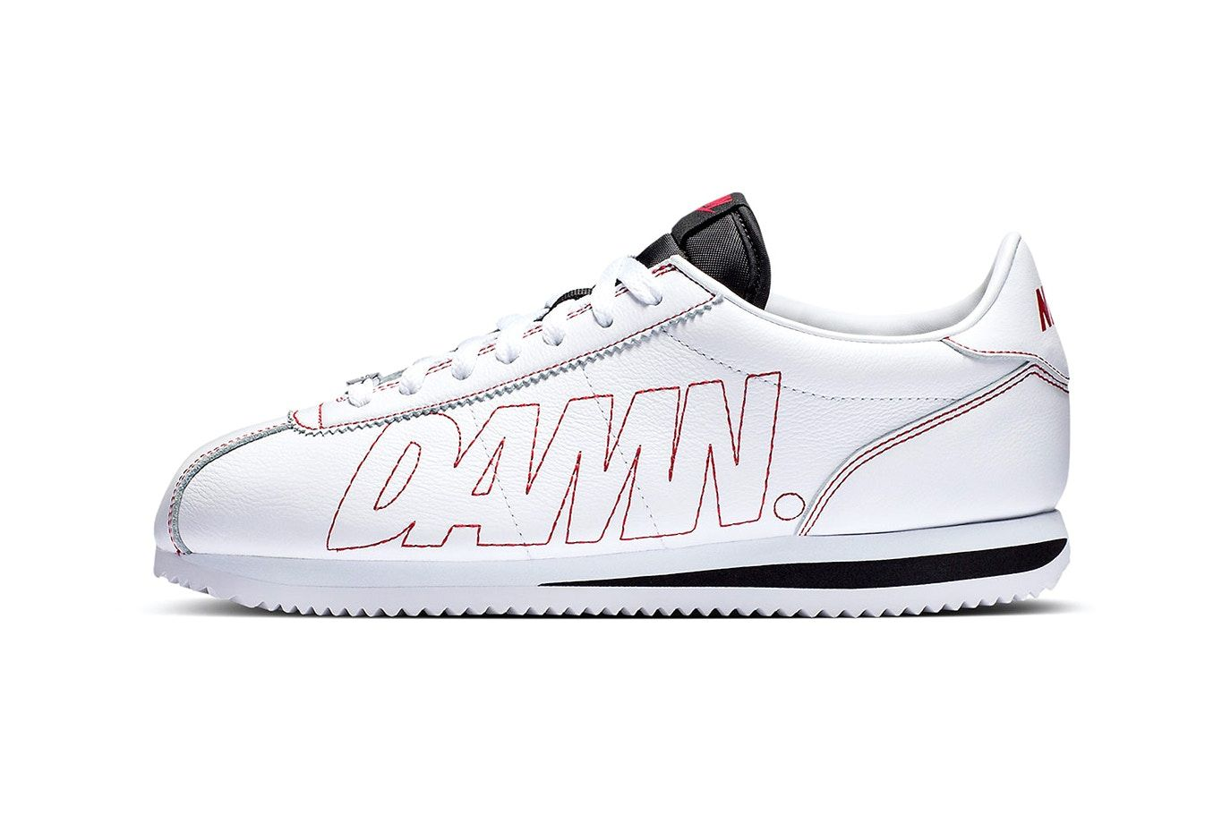 d754fef5 ... coupon kendrick lamars nike cortez sneaker is how were all feeling  8bb56 d5815