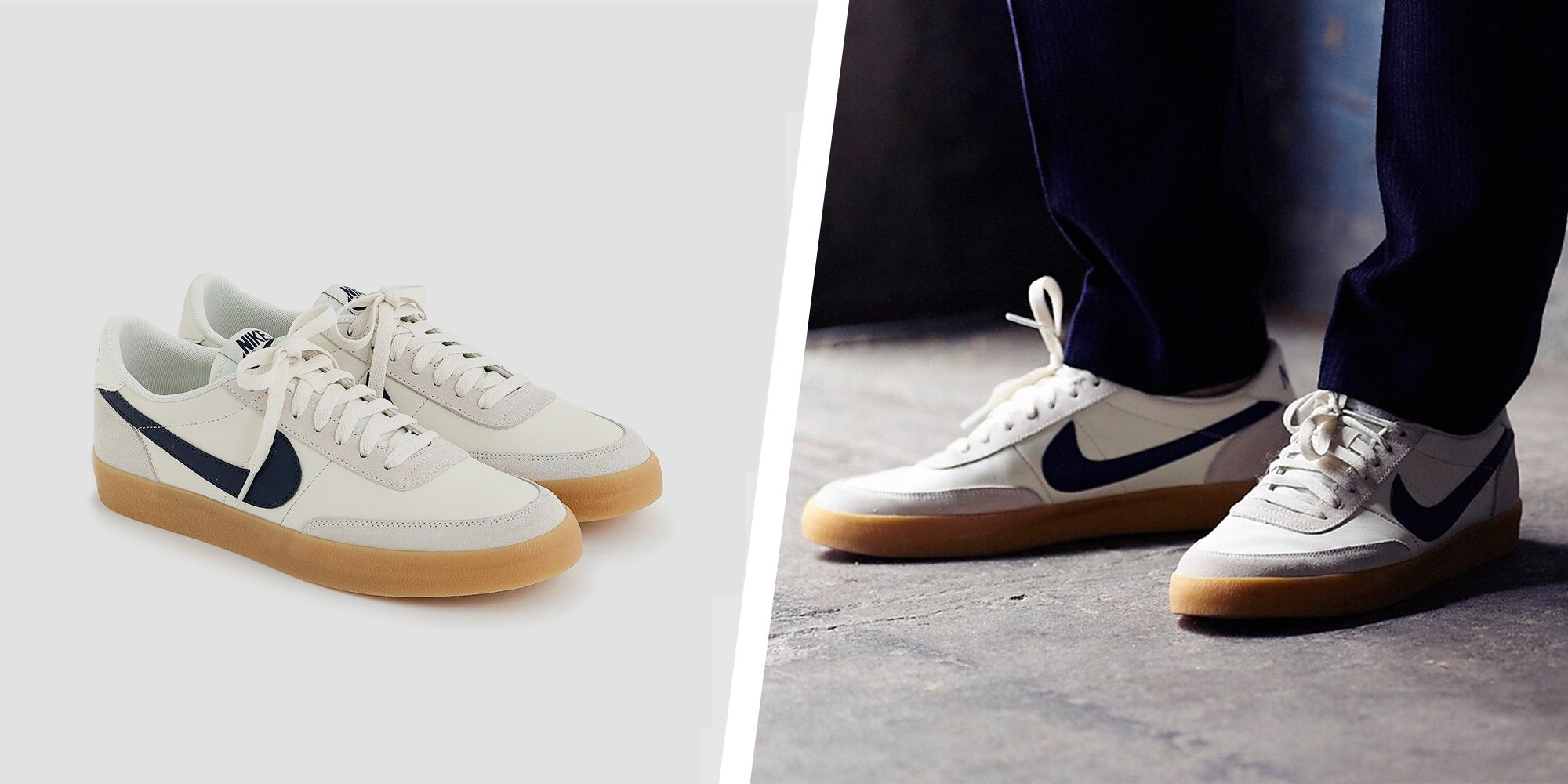 eternamente Espíritu Destino  J.Crew Restocked the Best-Selling Nike KillShot 2 Sneakers