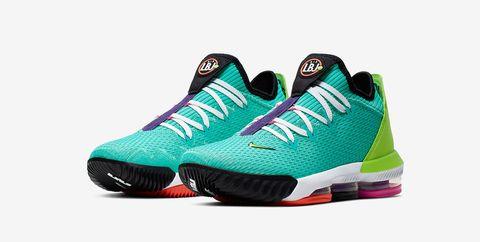 manual Disfrazado Bolsa  LeBron 16 Hyper Jade, unas zapatillas de Nike que son todo un homenaje a la  estética de los 90