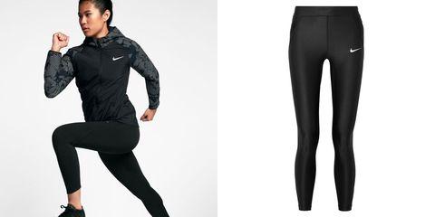 Clothing, Tights, Black, Leggings, Sportswear, Standing, Waist, Trousers, Sleeve, Leg,