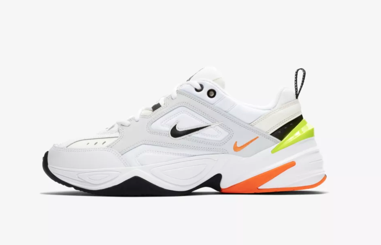 """74aca448eb57d2 Nike's M2K Tekno """"Techno Future"""" Shoe Throws It Back to the 'Dad Shoe'  Golden Age"""