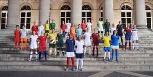 Nike womens football world cup kit