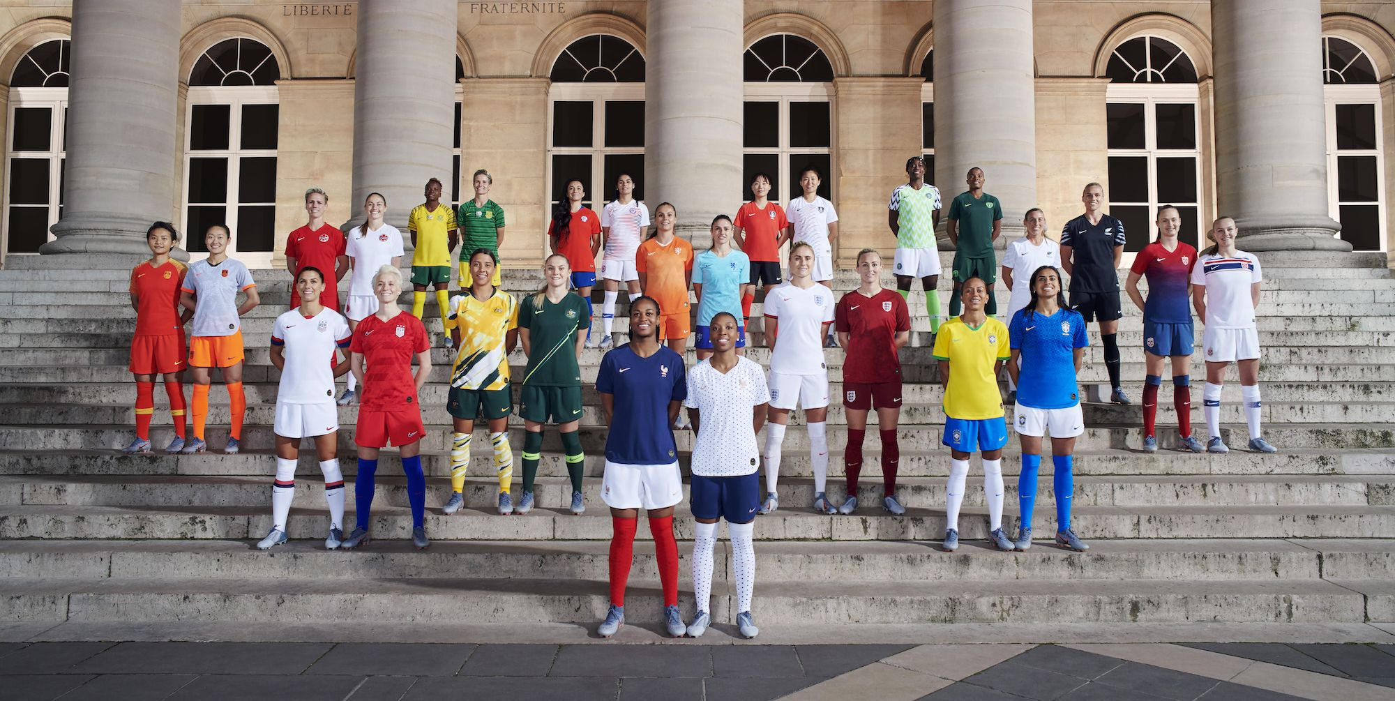 Nike womens football world cup kit