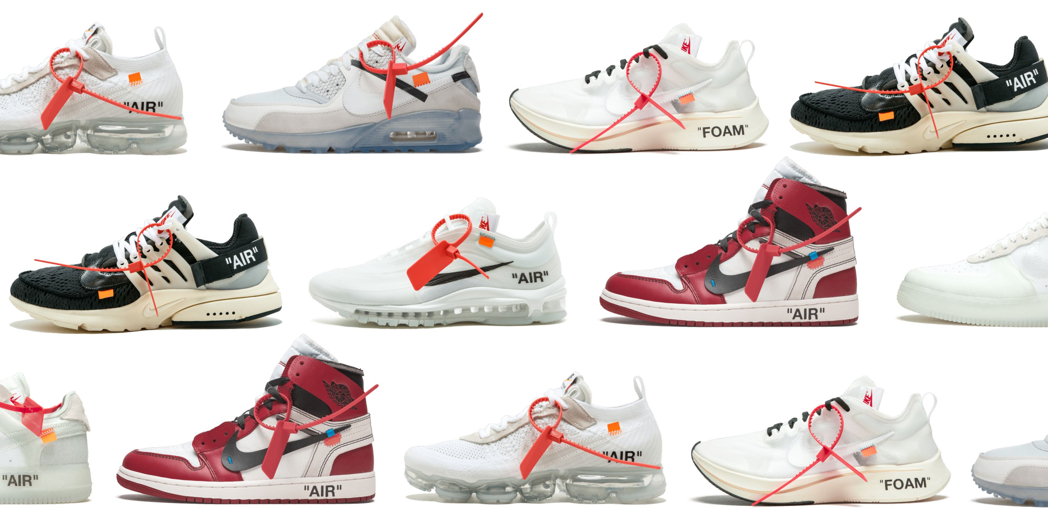 d1996fb22e0 The Best Running Shoes from Nike's Off-White Collaboration