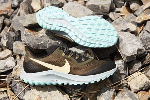 Shoe, Footwear, Running shoe, White, Walking shoe, Outdoor shoe, Turquoise, Cross training shoe, Brown, Sneakers,