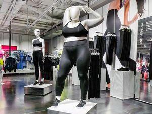nike plus size mannequins