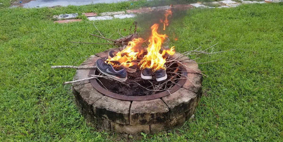 nike quemadas