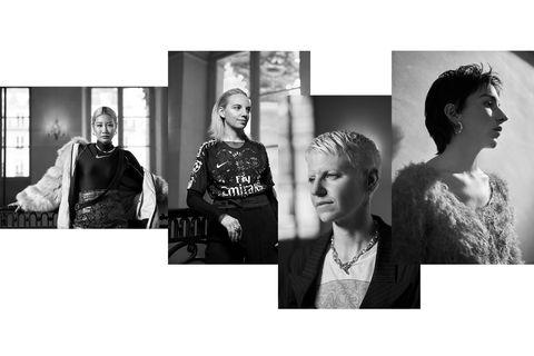 Photograph, Black-and-white, Fashion, Snapshot, Photography, Monochrome photography, Stock photography, Dress, Photo shoot, Portrait,