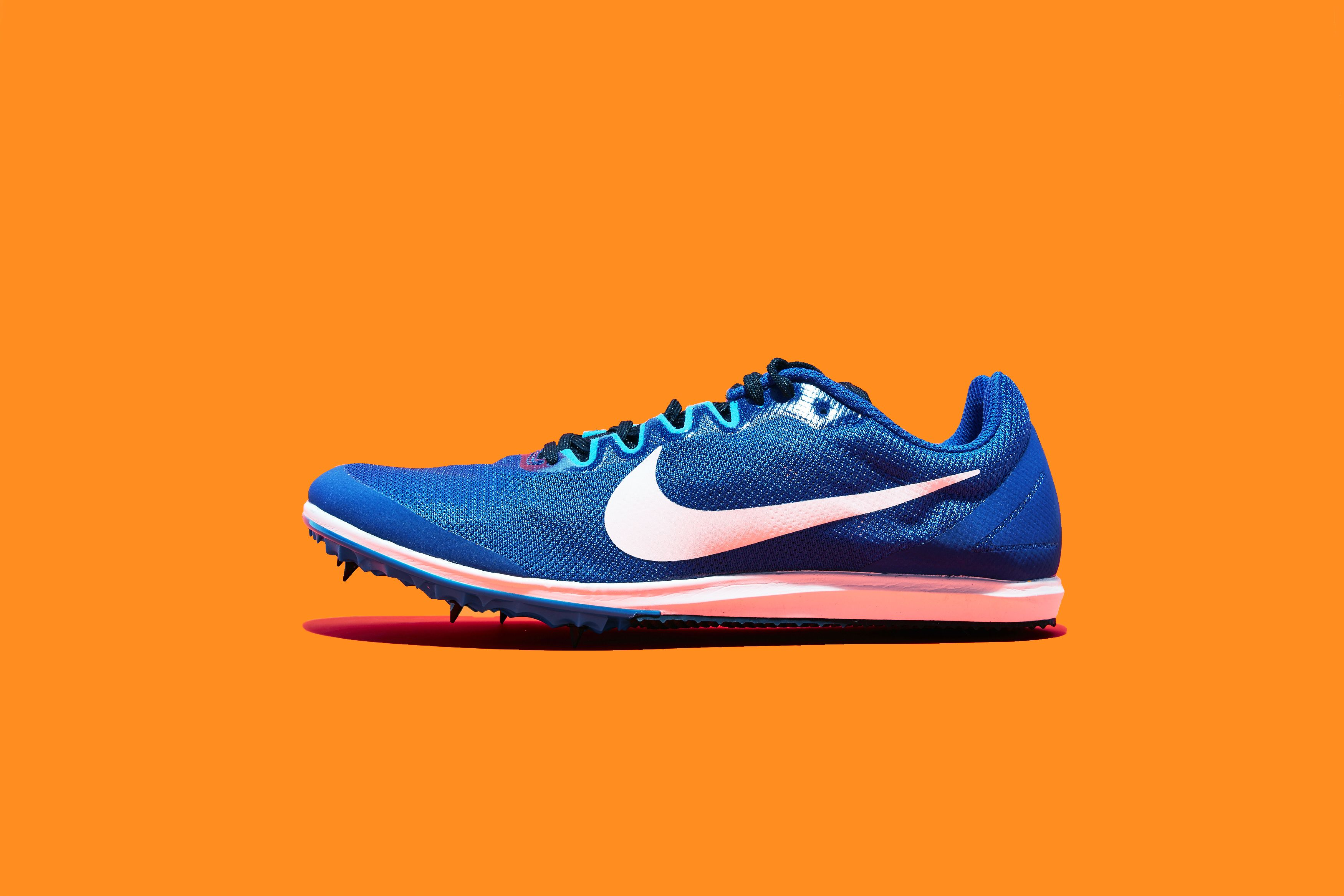 Nike Zoom Rival D 10 Blau Orange